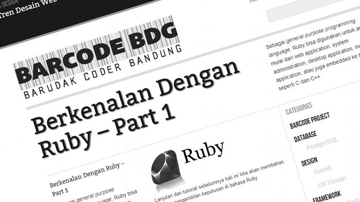 Barcode Bandung